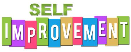 self realization: Self Improvement Professional Colorful Stock Photo