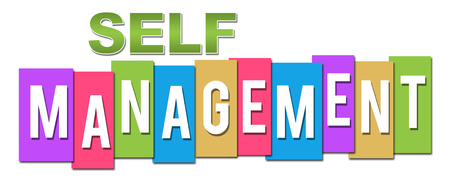 self realization: Self Management Colorful Stripes