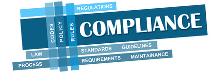 keywords: Compliance Blue Stripes With Keywords