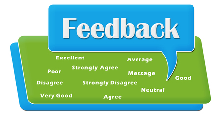 feedback: Feedback Comment Symbol Block