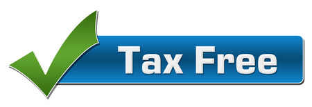 reduce taxes: Tax Free With Green Tickmark