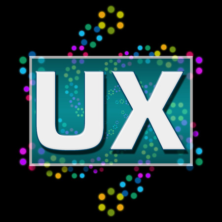 interactions: UX Black Colorful Neon