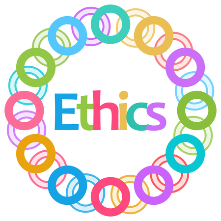 virtue: Ethics Colorful Rings Circular