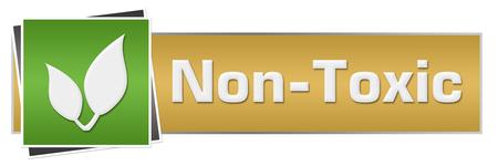 non: Non Toxic Green Brown Horizontal