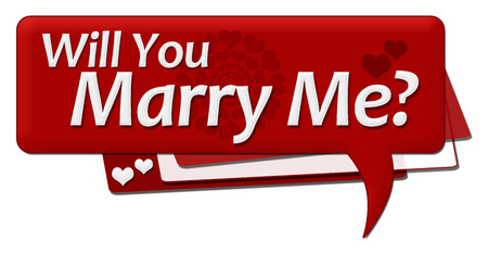 will: Will You Marry Me Romantic Comment Symbol