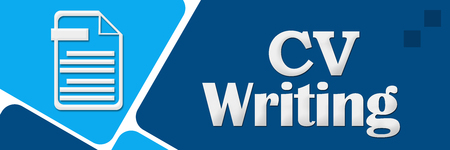 CV Writing Blue Rounded Squares