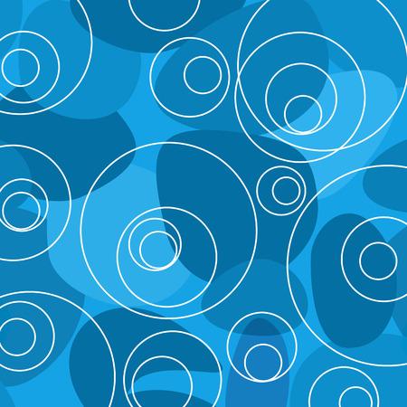 blue circles: Abstract Blue Random Circles Background