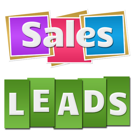 leads: Sales Leads Colorful Squares Stripes