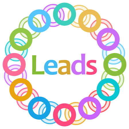 leads: Leads Colorful Rings Circular