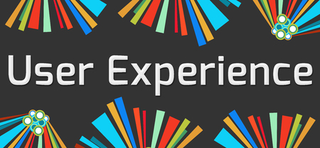 interactions: User Experience Dark Colorful Elements