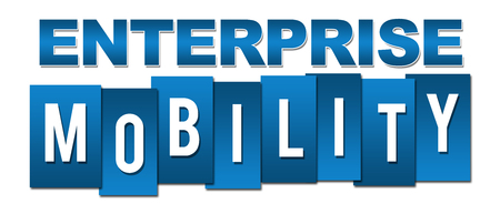 blue stripes: Enterprise Mobility Blue Stripes