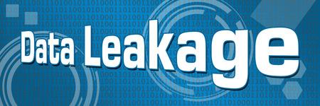 leakage: Data Leakage Technical Binary Background
