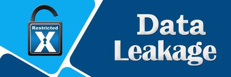 leakage: Data Leakage Opened Lock Rounded Squares