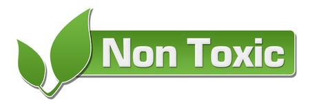non: Non Toxic Green Leaf Horizontal