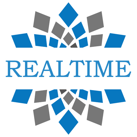 realtime: Realtime Blue Grey Square Elements