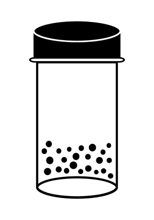 laboratory label: Bottle With Dots