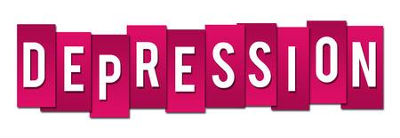pink stripes: Depression Pink Stripes Stock Photo