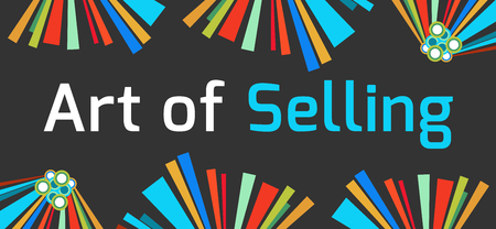 soft sell: Art Of Selling Dark Colorful Background