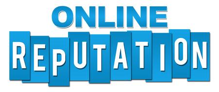 reputation: Online Reputation Blue Stripes