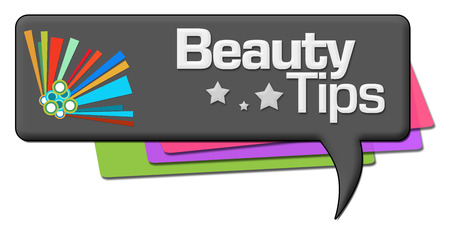 waxing: Beauty Tips Dark Colorful Comment Symbol