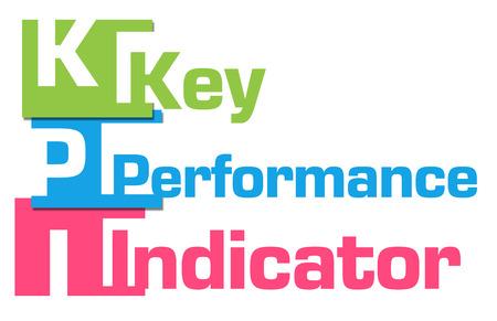 kpi: KPI Abstract Colorful Stripes