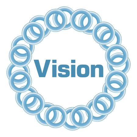 long term goal: Vision Blue Rings Circular