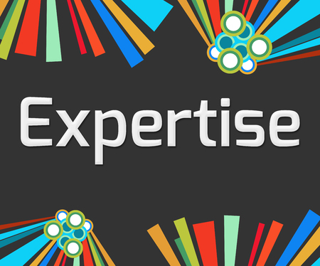 expertise: Expertise Dark Colorful Elements
