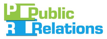 relaciones p�blicas: Relaciones p�blicas Verde Azul extracto raya