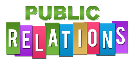 relations: Public Relations Professional Colorful