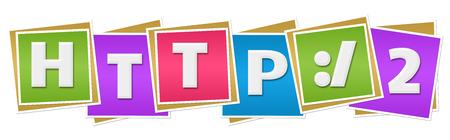 http: HTTP 2 Colorful Blocks