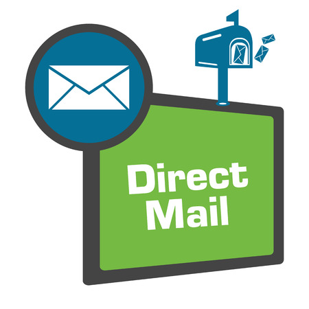 Direct Mail Green Blue