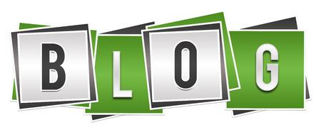 Blog Green Grey Blocks