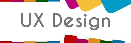 UX Design Abstract Colorful Shapes