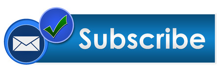 joining services: Subscribe Two Blue Circles