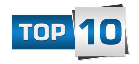 top ten: Top Ten Blue Grey Horizontal