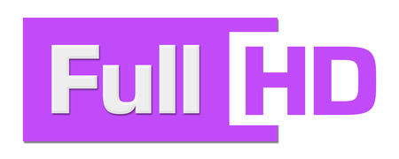 hidef: Full HD Purple Horizontal Stripe