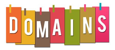 domains: Domains Colorful Stuck Stripes