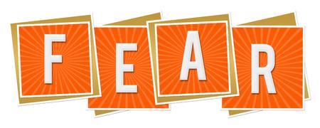 fear: Fear Orange Blocks Burst