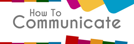How To Communicate Abstract Colorful Shapes