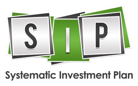 sip: SIP - Systematic Investment Plan Green Grey Blocks