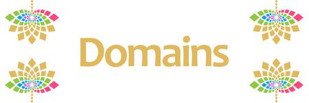 domains: Domains Colorful Floral Horizontal