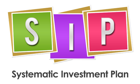 sip: SIP - Systematic Investment Plan Colorful Blocks