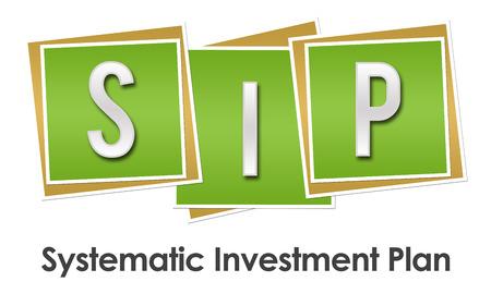 sip: SIP Green Blocks Stock Photo