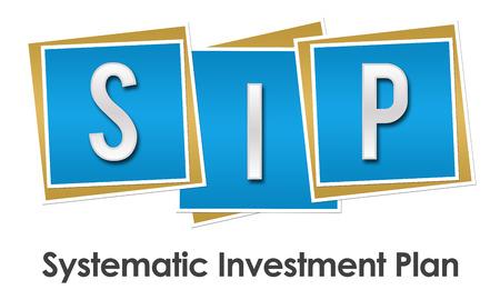 sip: SIP Blue Blocks Stock Photo
