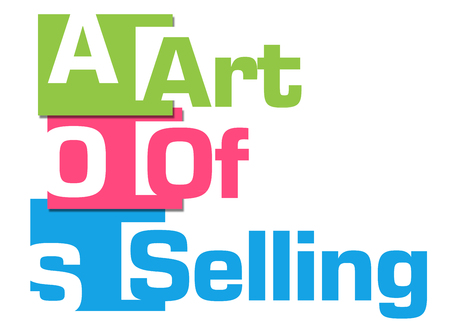 soft sell: Art Of Selling Colorful Abstract Stripes