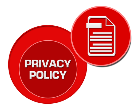 Privacy Policy Red Circles