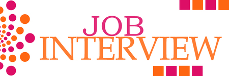 listings: Job Interview Pink Orange Dots Horizontal
