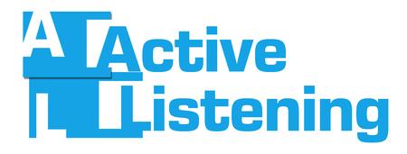 escucha activa: Escuchar activamente extracto raya azul