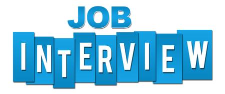 listings: Job Interview Blue Professional