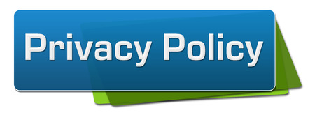 Privacy Policy Blue Green Horizontal Squares